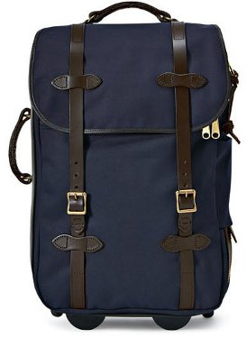 Filson Navy Medium Rolling Carry-On Bag  11070323