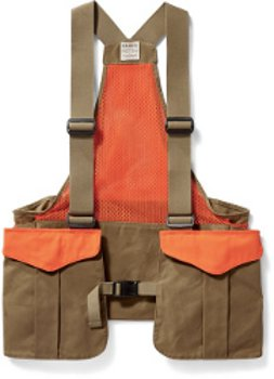 Filson Mesh Game Bag Dark Tan/Blaze Orange 20021279