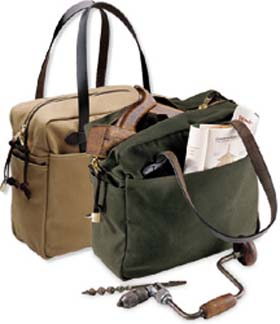 Filson Tote Bag 261 Otter Green or Tan